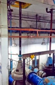 ARBØR en bomba de agua vertical con acople FUNDAL FAS